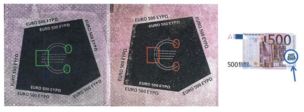 Nowy doskonały falsyfikat euro o nominale 500 – NBP ostrzega