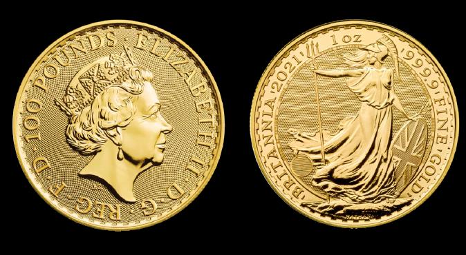 Złota moneta wprost z Mennicy Królewskiej – Britannia 1 oz.